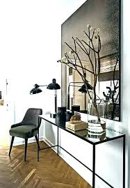 mirror and table for foyer thebigswim