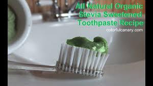 stevia mouthwash recipe