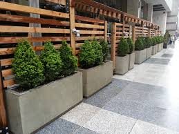 Planters Concrete Patio Planters With Galvanized Inserts Patio Planters Outdoor Restaurant Patio Wall Planters Outdoor