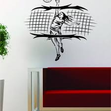 Best Volleyball Wall Stickers Products On Wanelo