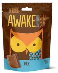 caffeine in awake chocolate