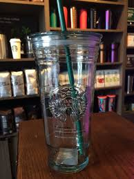 recycled glass cold cup 20 oz venti