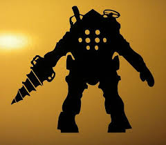 Awesome Decal For The Bioshock Lover Vinyl Decals Big Daddy Vinyl Decal Stickers