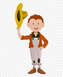 village boy cartoon clipart