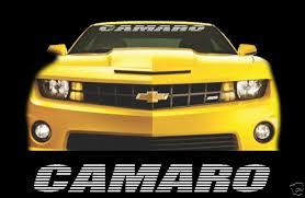 Product Camaro 36 Windshield Banner Decal Vinyl Sticker Chevy Chevrolet Ss Z28 Sport