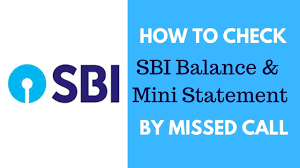 How To Check SBI Balance & mini statement by Missed Call - Tech ...