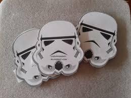 La Super Mamy Cumple Invitacion Stormtrooper Star Wars