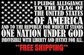 Auto Parts Accessories 16x32 Pledge Of Allegiance American Flag Custom Vinyl Decal Sticker Car Truck Smaitarafah Sch Id