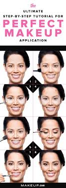 how to apply your makeup step by step