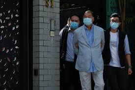 police arrest media tycoon Jimmy Lai ...