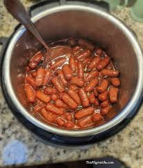 instant pot lil smokies in homemade