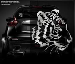 Sell Tiger Decal Metallic Silver 5 X4 3 Bengal Siberian Cat Vinyl Car Sticker T1 Zu1 Motorcycle In Sticker City Ca For Us 4 95