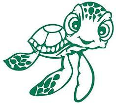 Turtle Sticker Car Window Decal Laptop Vinyl Cute Tortoise Fun Shell Love Green