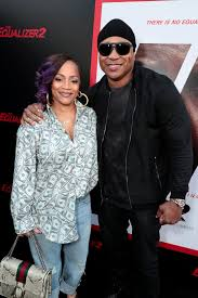 Simone Smith and LL Cool J attend the Los Angeles premiere of THE ...
