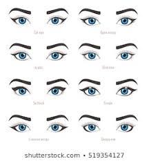 cat eye makeup images stock photos