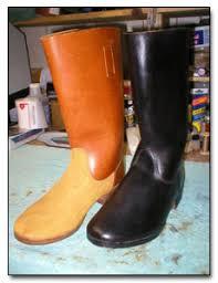 how to blacken your boots der erste zug