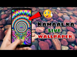 live wallpaper touching colours effects
