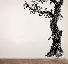Whimsical Corner Tree Nursery Vinyl Wall Decal Modernvinyls
