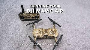Dji Mavic Air Skin Installation Youtube
