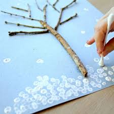 Winter Tree Art for Kids (With images) | Winter trees, Winter ...