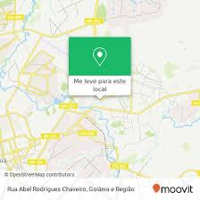 Como chegar até Rua Abel Rodrigues Chaveiro, Santo Hilário Goiânia-GO em  U.T.P. Santo Hilario de Ônibus | Moovit