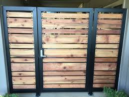 Modern Gate With Clients Redwood Planks Wood Fence Design Backyard Gates Wooden Gates Driveway
