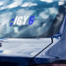 Vinyl Decal Sticker Igy6 Etsy