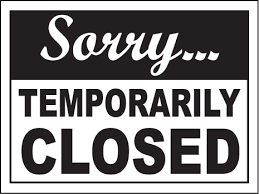Image result for library closed sign