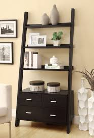 artistic function of leaning bookcase