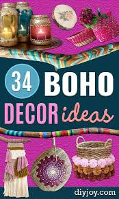 34 diy boho decor ideas artesanías