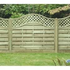 Omega Lattice Top Fence Panel 1800mm X 1500mm