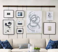 Hanging Picture Frame Rail Bronze Pottery Barn