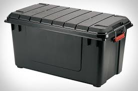 iris air tight storage trunk uncrate