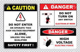 High Voltage Sign Or Electrical Safety Sign High Voltage Electric Royalty Free Cliparts Vectors And Stock Illustration Image 40811659