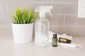 homemade countertop cleansing spray