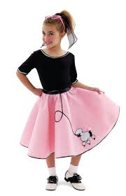 50s poodle skirt hair and makeup