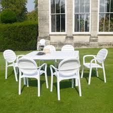 alloro 6 seater dining set nardi colour