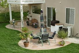 patio designs on a budget heser
