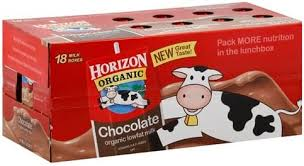 horizon lowfat organic chocolate milk