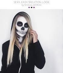 y scary skeleton makeup tutorial