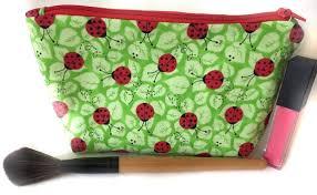 ladybug makeup bag cute makeup