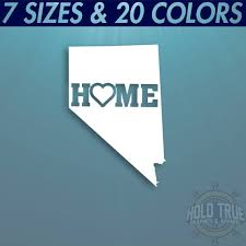 Nevada Decal Pick Color And Size Nevada Home Decal Nv Etsy