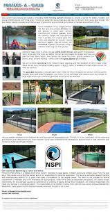 Protect A Child Pool Fencing Cape Town Wes Kaap