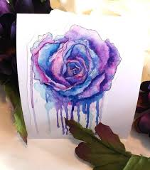 Colorful Flower Decal For Laptop Or Tablet Rose Sticker Etsy