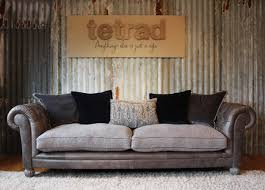tetrad mixed leather fabric sofas