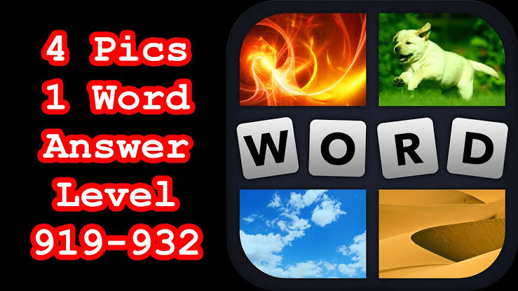 4 Pic 1 Word Letters Answers – 10 Packages x 50 Levels