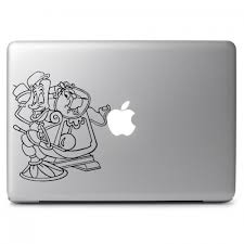 Disney Beauty And The Beast Lumiere And Gaston Apple Macbook Air Pro 13 15 17 Vinyl Decal Sticker Dreamy Jumpers