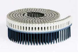 ring shank snless steel plastic coil