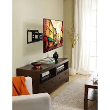 commercial electric full motion tv wall