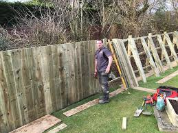 Fence Diy Guide To Installing Close Board Fencing How To Guide
